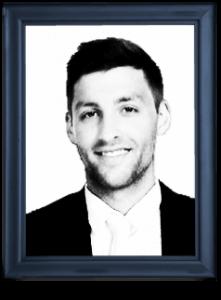 Eric Bishara in a frame
