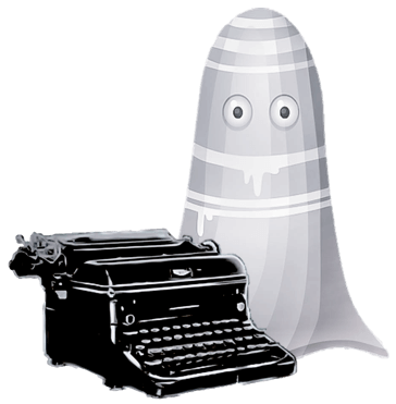 Ghost With Typewriter